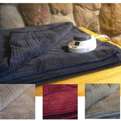Perfect Fit Tri Ribbed Low Voltage Electric Blanket