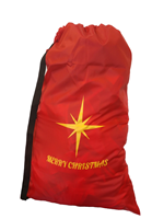 Merry Christmas Holiday Large Santa Bag with Carry Strap
