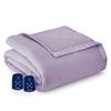Micro Flannel Electric Heated Blanket - Amethyst