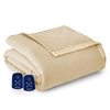 Micro Flannel Electric Heated Blanket - Chino