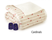 Microflannel Electric Blankets - Cardinals