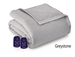 Microflannel Electric Blankets - Greystone