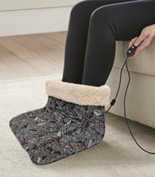 Electric Foot Warmer with Camo Pattern Print