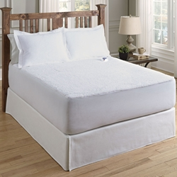 Soft Heat Perfect Fit Safe Low Voltage Sherpa Heated Mattress Pad